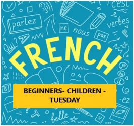 French Language Program – Beginner – Children – Tuesday Evening – Online