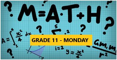 Math Enrichment Program – HighSchool – Grade 11 – Monday Evening- Online
