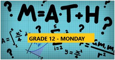 Math Enrichment Program – HighSchool – Grade 12 – Monday Evening- Online