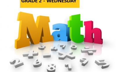 Mastering Math – Grade 2 – Wednesday Evening – Online