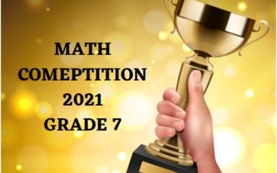 Math Champion – Ontario, Canada- Grade 7 – Sunday