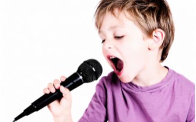 Music – Voice Lessons – Ages 4-7 Online