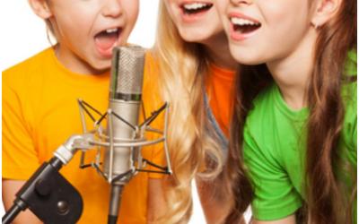 Music – Voice Lessons – Ages 8-12 Online